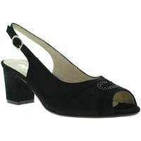 Zapatos Mujer Sandalias Melluso S615 Negro