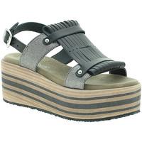 Zapatos Mujer Sandalias Pregunta IBH15804 Negro