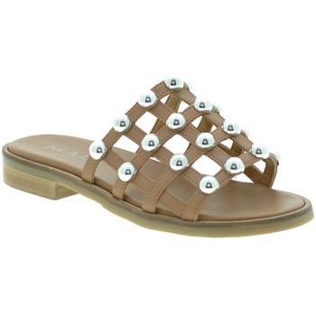 Zapatos Mujer Zuecos (Mules) Mally 6141 Marrón