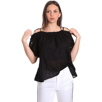textil Mujer Tops / Blusas Gaudi 811FD45011 Negro