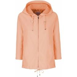 textil Mujer Parkas Geox W8220Q T2415 Naranja