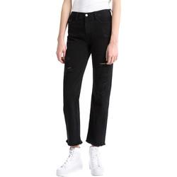 textil Mujer Vaqueros boyfriend Calvin Klein Jeans J20J207108 Negro