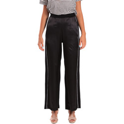 textil Mujer Pantalones fluidos Y Not? 18PEY001 Negro