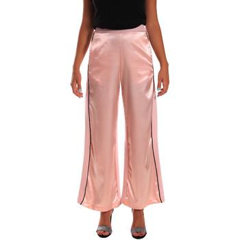 textil Mujer Pantalones fluidos Y Not? 18PEY001 Rosado