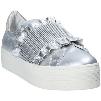 Zapatos Mujer Slip on Mally 6174 Gris