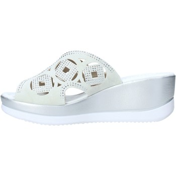 Valleverde 32150 Blanco - Zapatos Zuecos (Mules) Mujer 6900