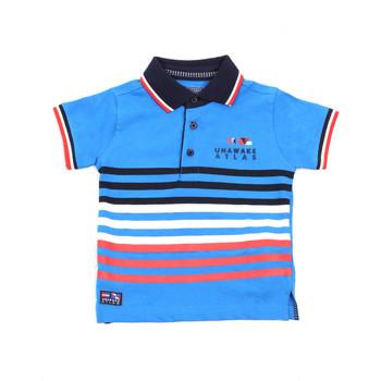 textil Niños Polos manga corta Losan 015-1037AL Azul