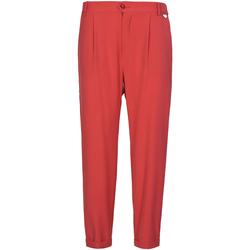 textil Mujer Pantalones chinos Café Noir JP228 Rojo