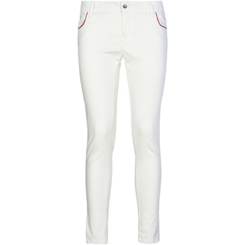 textil Mujer Pantalones chinos Café Noir JP235 Blanco