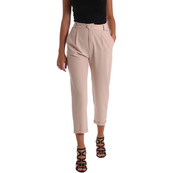 textil Mujer Pantalones chinos Café Noir JP228 Beige