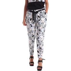 textil Mujer Pantalones chinos Café Noir JP244 Negro