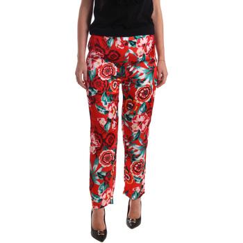 textil Mujer Pantalones fluidos Gaudi 73FD20201 Naranja