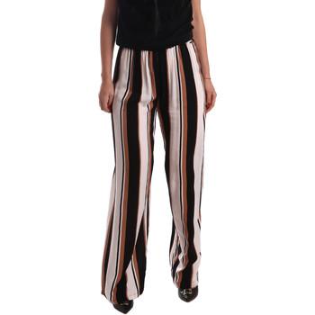 textil Mujer Pantalones fluidos Gaudi 73FD25220 Negro