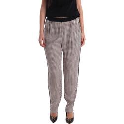 textil Mujer Pantalones fluidos Gaudi 73FD25238 Negro
