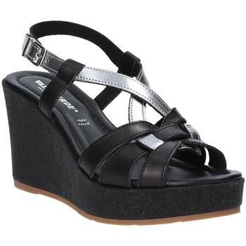 Zapatos Mujer Sandalias Valleverde 32404 Negro