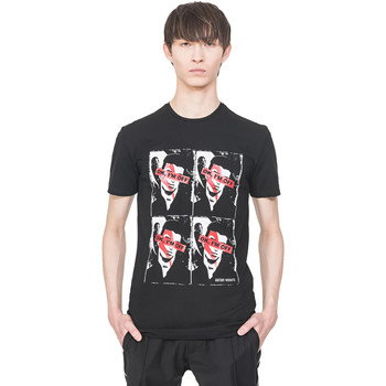 textil Hombre Camisetas manga corta Antony Morato MMKS01743 FA120001 Negro