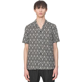 textil Hombre Camisas manga corta Antony Morato MMSS00156 FA430413 Beige
