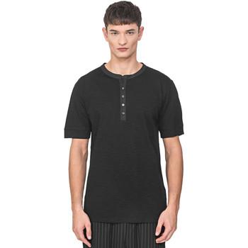textil Hombre Camisetas manga corta Antony Morato MMKS01725 FA100139 Negro