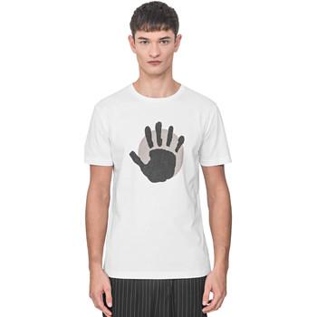 textil Hombre Camisetas manga corta Antony Morato MMKS01765 FA100144 Blanco