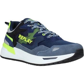 Zapatos Hombre Zapatillas bajas Replay GMS2L 240 C0001T Azul