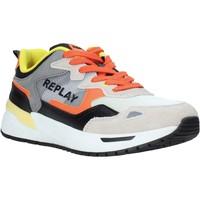 Zapatos Hombre Zapatillas bajas Replay GMS2L 240 C0001T Naranja