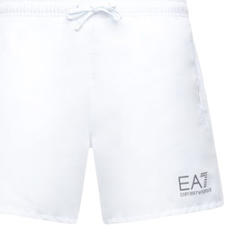 textil Hombre Bañadores Ea7 Emporio Armani 902000 CC721 Blanco