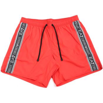 textil Hombre Bañadores Ea7 Emporio Armani 902000 0P734 Rojo
