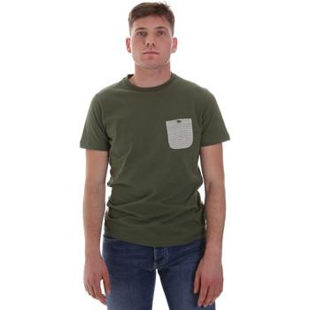 textil Hombre Camisetas manga corta Sseinse ME1588SS Verde