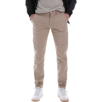 textil Hombre Pantalones chinos Sseinse PSE555SS Beige