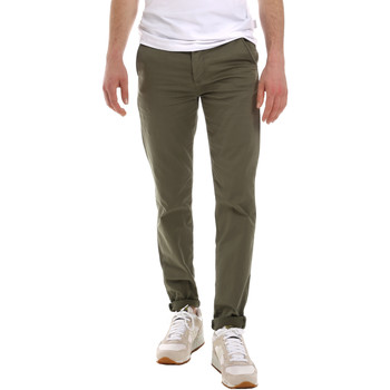 textil Hombre Pantalones chinos Sseinse PSE555SS Verde