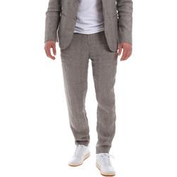 textil Hombre Pantalón de traje Sseinse PSE585SS Marrón