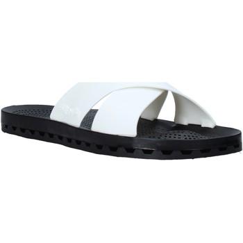 Zapatos Hombre Zuecos (Mules) Sensi 4300/U Blanco