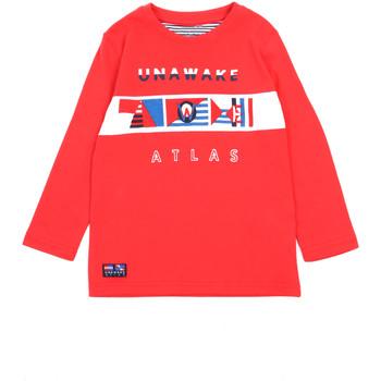 textil Niña Camisetas manga larga Losan 015-1002AL Rojo