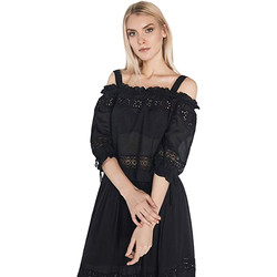 textil Mujer Tops / Blusas Gaudi 811FD45010 Negro