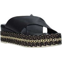 Zapatos Mujer Zuecos (Mules) Bueno Shoes Q5907 Negro