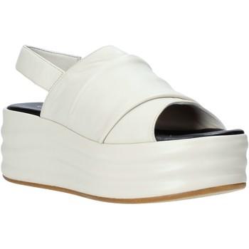 Zapatos Mujer Sandalias Café Noir GG422 Beige