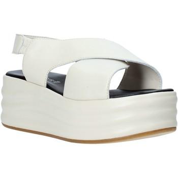 Zapatos Mujer Sandalias Café Noir GG426 Beige