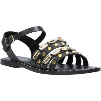 Zapatos Mujer Sandalias Café Noir GB174 Negro