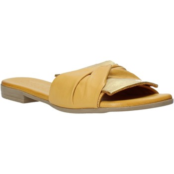 Zapatos Mujer Zuecos (Mules) Bueno Shoes 9L2735 Amarillo