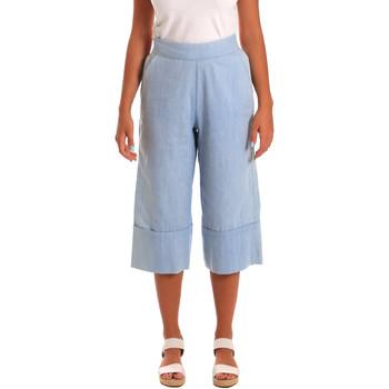textil Mujer Pantalones cortos Y Not? 18PEY043 Azul