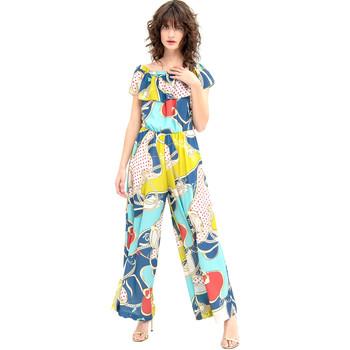 textil Mujer Monos / Petos Fracomina FR20SM032 Azul
