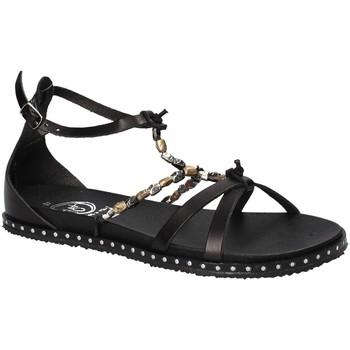 Zapatos Mujer Sandalias 18+ 6140 Negro