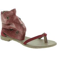 Zapatos Mujer Sandalias 18+ 6111 Rojo