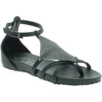 Zapatos Mujer Sandalias 18+ 6108 Negro