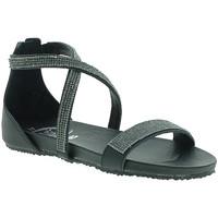 Zapatos Mujer Sandalias 18+ 6141 Negro