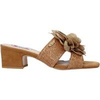 Zapatos Mujer Zuecos (Mules) Love To Love EVA575 Marrón
