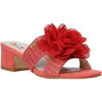 Zapatos Mujer Zuecos (Mules) Love To Love EVA5106 Rojo
