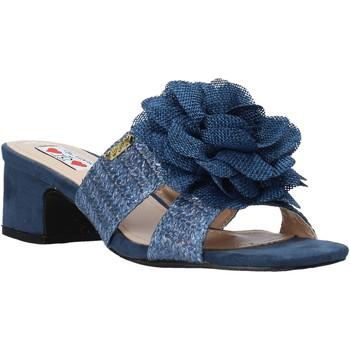 Zapatos Mujer Zuecos (Mules) Love To Love EVA579 Azul
