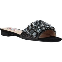 Zapatos Mujer Zuecos (Mules) Love To Love ALE 183 Negro