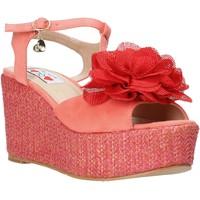 Zapatos Mujer Sandalias Love To Love GIN5106 Rojo